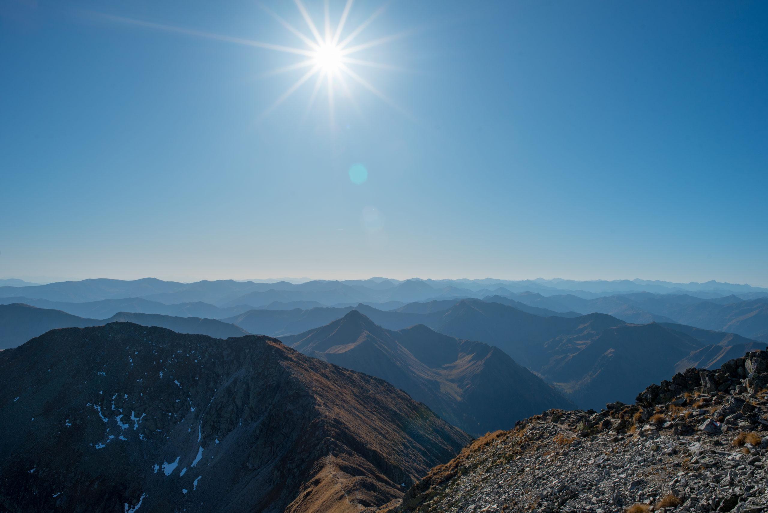 Schönes Bergpanorama in Hohentauern